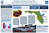 Community Strength and Disasters: Collective Efficacy Following the 2004 Florida Hurricanes